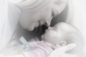 gezonde hechting moeder en kind