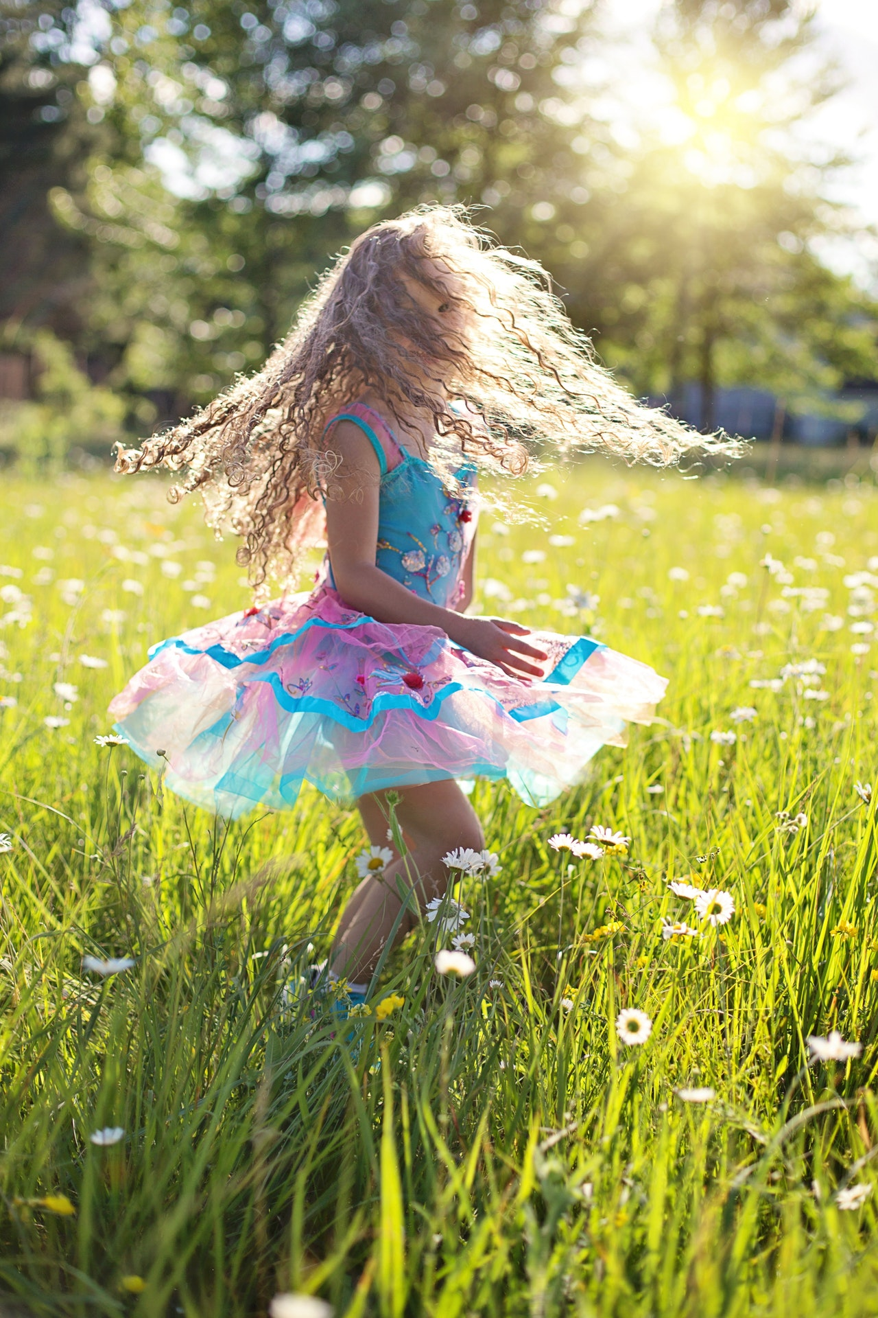 De dans van het kind